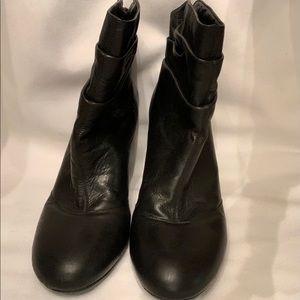 BCBG Black Ankle Boots